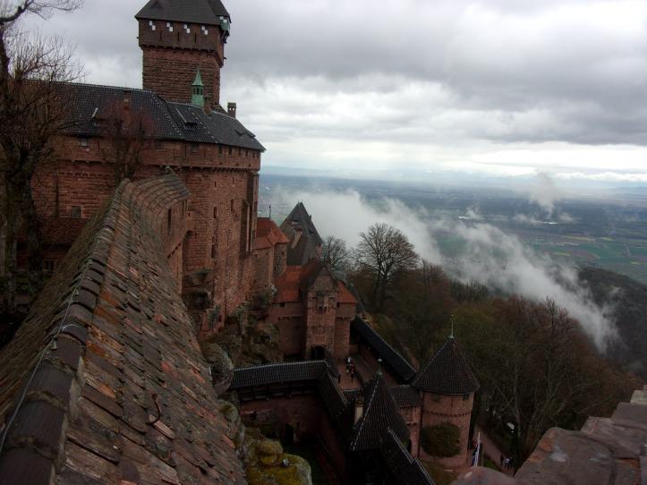 vue du chateau du Haut Koenisbourg