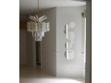 miroir-design-bulles-allongees