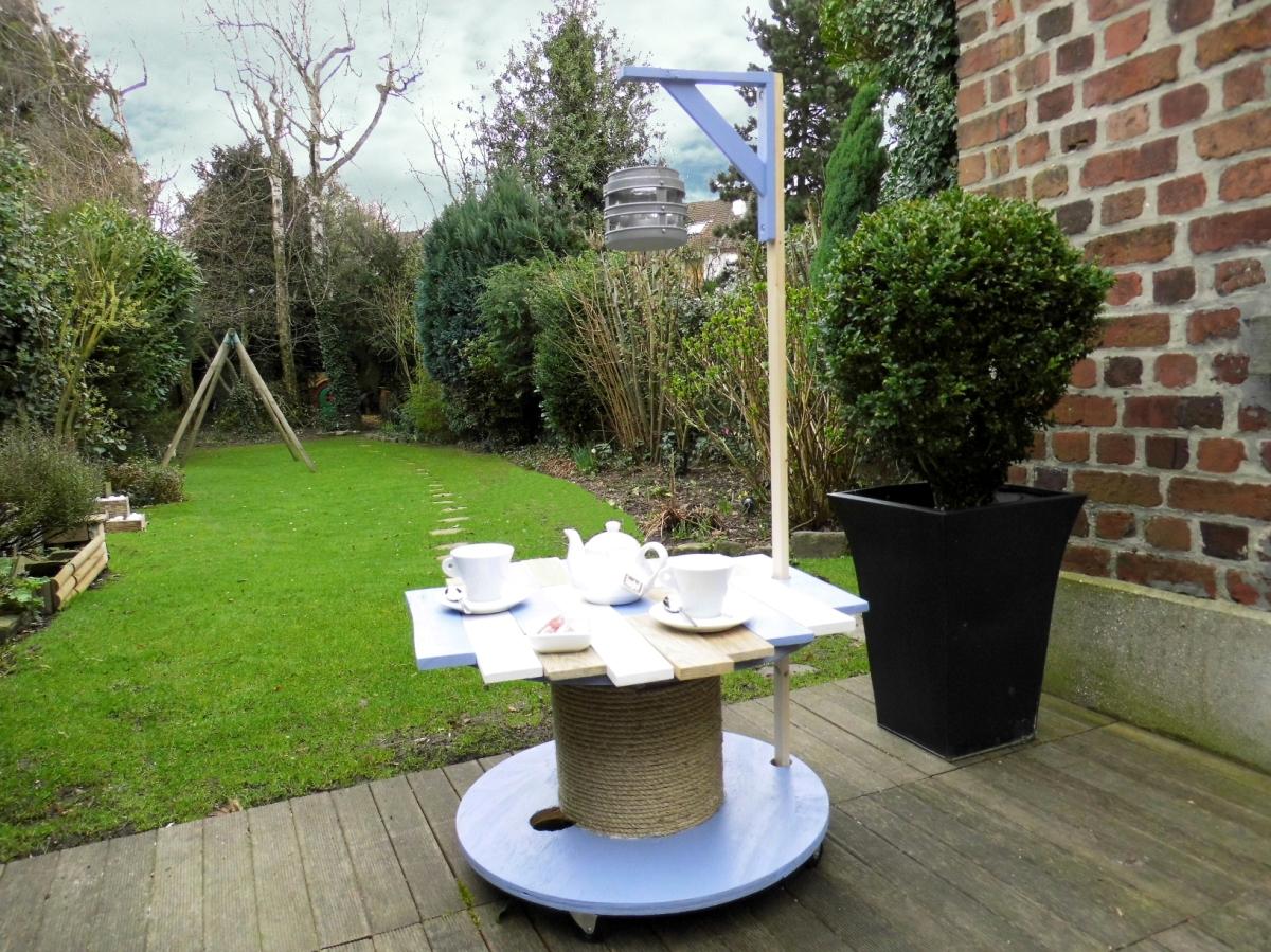 Que Faire Avec Un Touret Une Table De Jardin Pardi