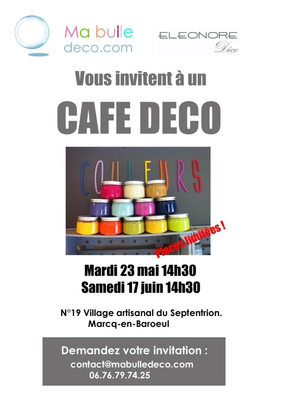 cafe deco affiche