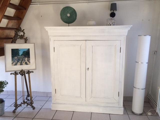 parisien blanc in situ