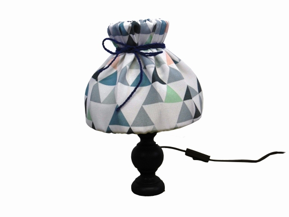 lampe triangles detouree