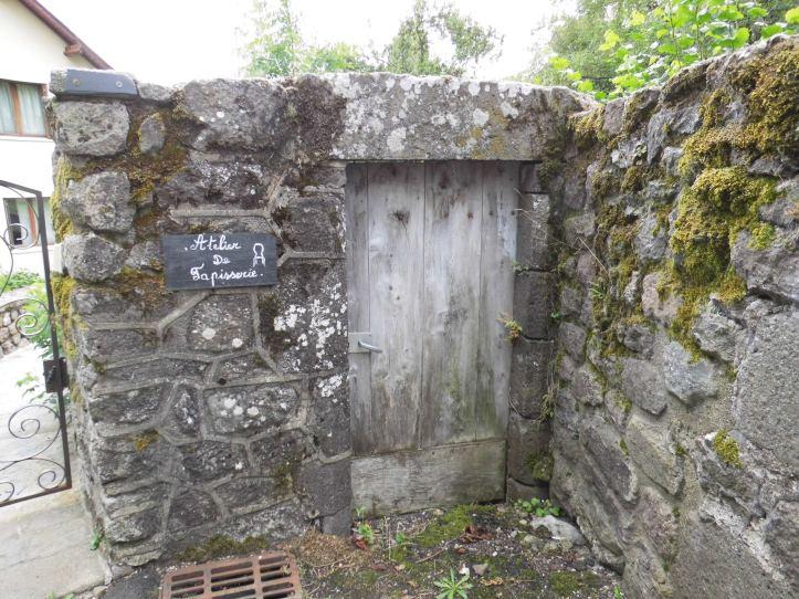 atelier tapisserie Besse Auvergne