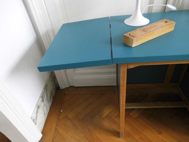 bureau vintage enfant allonge