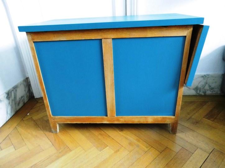 bureau vintage enfant dos