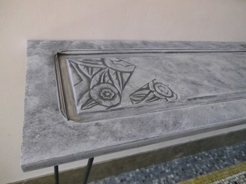 console effet beton 3 bd