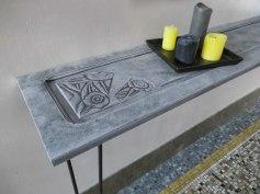 console effet beton 4 bd