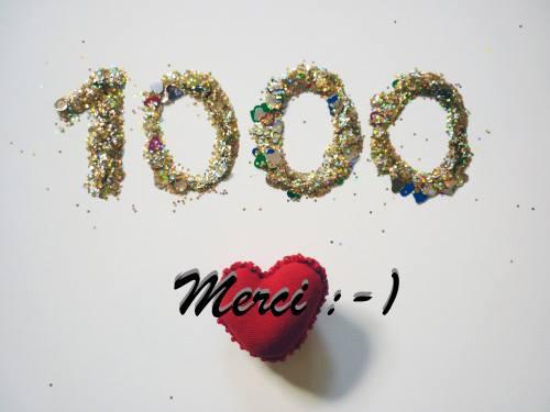 1000 fans