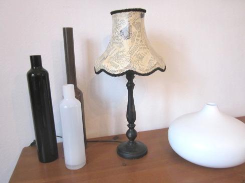 ambiance lampe noire