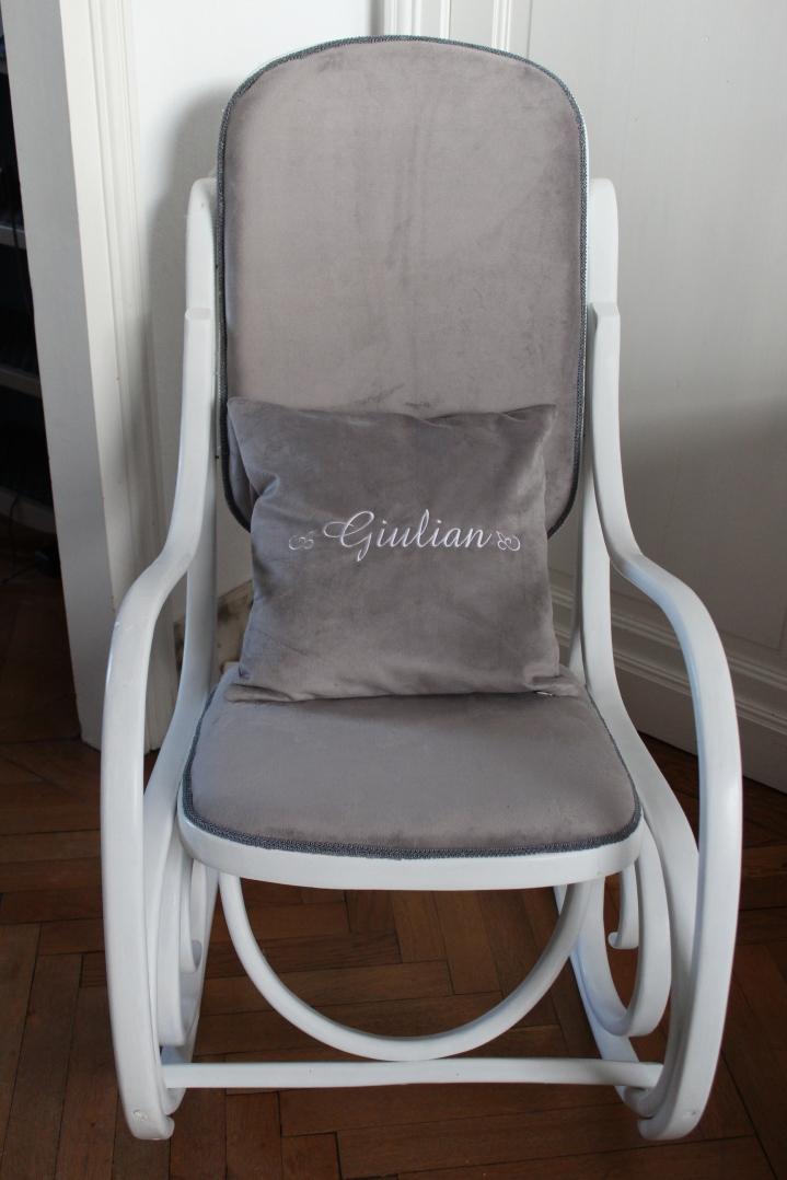 rocking chair coussin Giulian