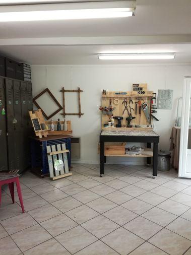 L'espace atelier