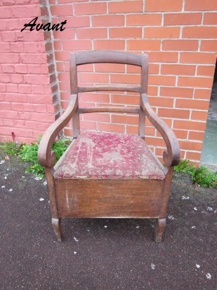 fauteuil vache avant