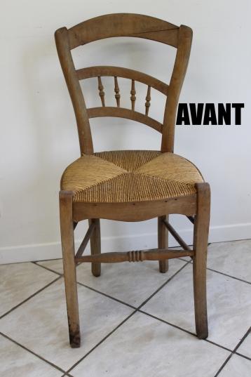 chaise avant