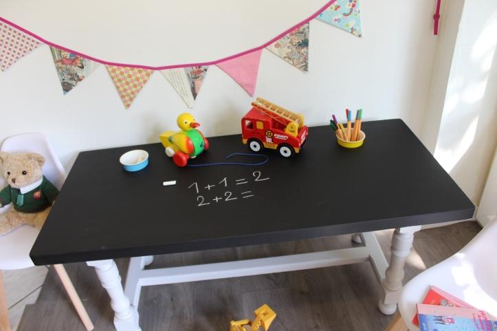 table peinture craie