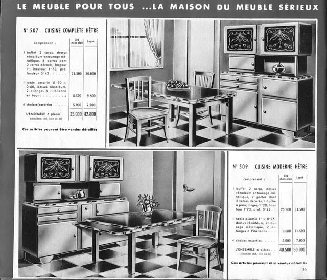 Meubles cuisine buffet Mado 1953 Meuble pour tous Rouen 003a